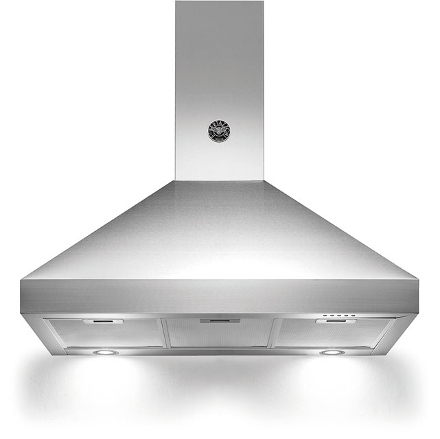 Bertazzoni Master Series K90-AM-HX-A 90 cm Chimney Cooker Hood - Stainless Steel - A Rated - K90-AM-HX-A_SS - 1