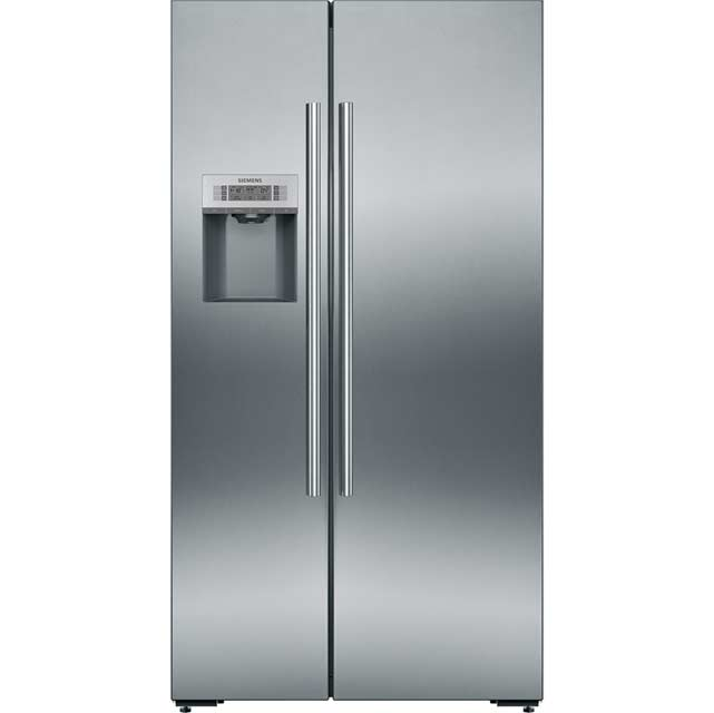 Siemens IQ-500 KA92DAI20G Wifi Connected American Fridge Freezer - Stainless Steel - A+ Rated