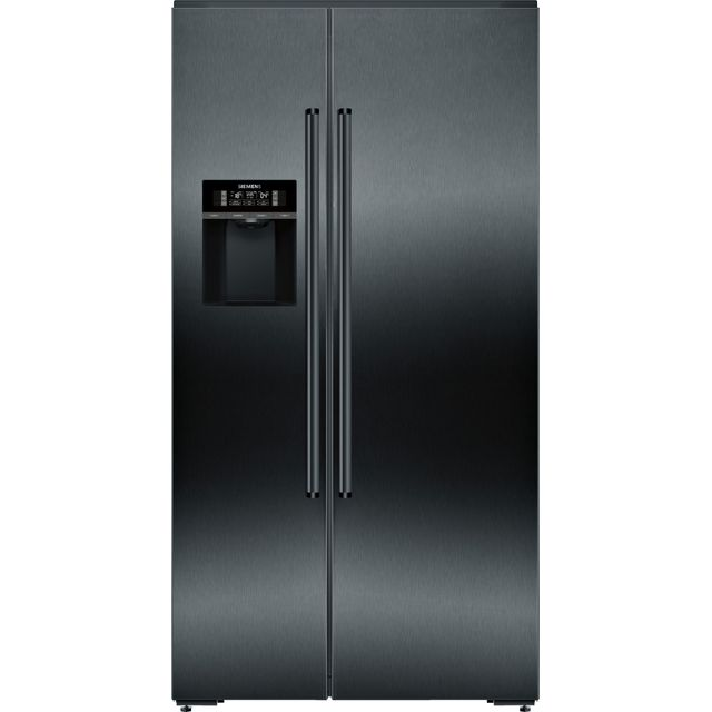 Siemens IQ-700 KA92DHXFP Wifi Connected American Fridge Freezer - Black - A++ Rated - KA92DHXFP_BK - 1