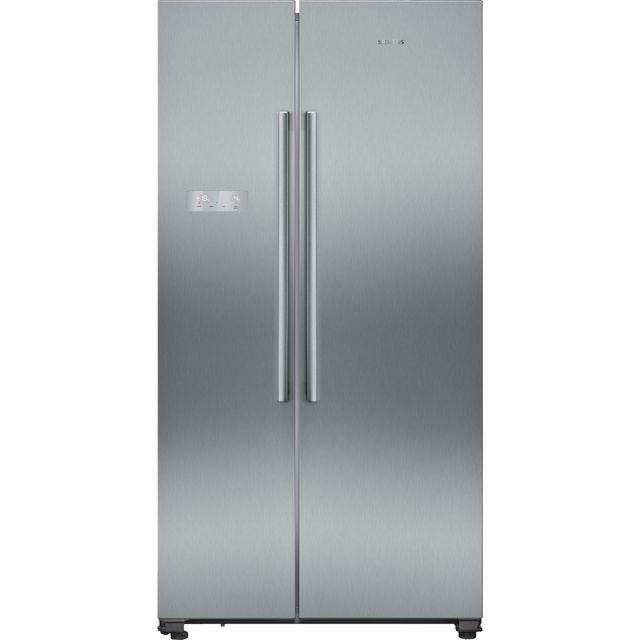 Siemens IQ-300 KA93NVIFP American Fridge Freezer - Stainless Steel Effect - A++ Rated Best Price, Cheapest Prices