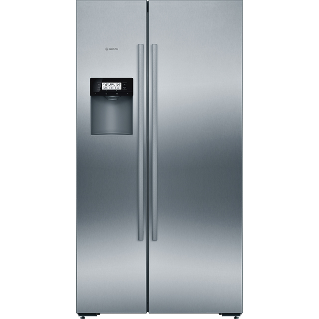 Bosch Serie 6 KAD92AI20G Wifi Connected American Fridge Freezer - Stainless Steel Effect - A+ Rated Best Price, Cheapest Prices