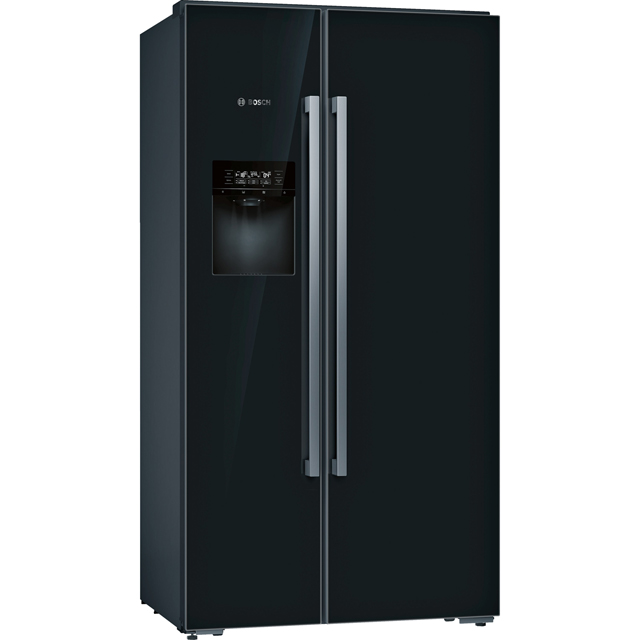 Bosch Serie 8 KAD92HBFP Wifi Connected American Fridge Freezer - Black - A++ Rated - KAD92HBFP_BK - 1