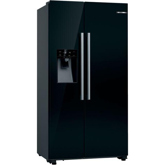 Bosch Serie 6 KAD93VBFPG American Fridge Freezer - Black - F Rated