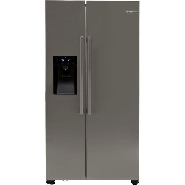 Bosch Serie 6 KAD93VIFPG American Fridge Freezer - Stainless Steel Effect - F Rated