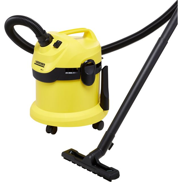 Karcher WD2 Wet & Dry Cylinder Vacuum Cleaner
