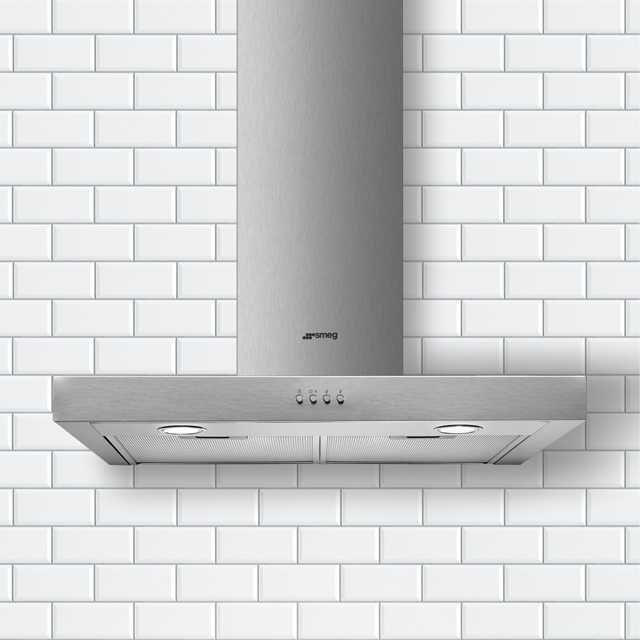 Smeg Cucina KATE600EX Built In Chimney Cooker Hood - Stainless Steel - KATE600EX_SS - 2