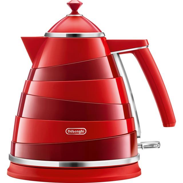 DeLonghi Avvolta KBA3001.R Kettle - Red