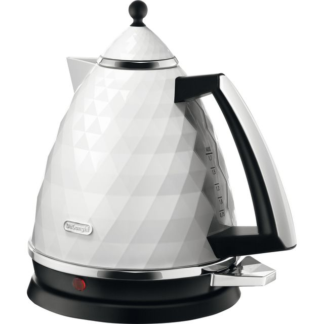 De'Longhi Brilliante Kettle - White