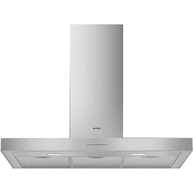 Smeg KBT900XE 90 cm Chimney Cooker Hood - Stainless Steel