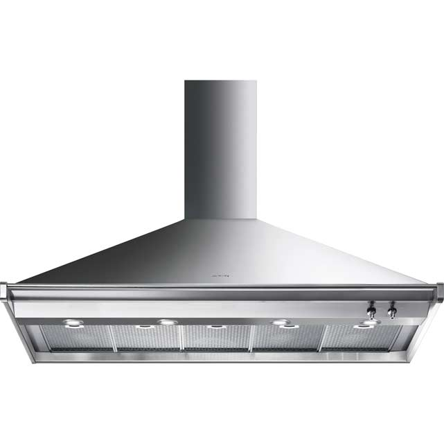 Smeg Opera KD150XE Built In Chimney Cooker Hood - Stainless Steel - KD150XE_SS - 1