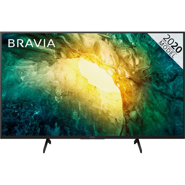 "Sony Bravia KD49X7052PBU 49"" Smart 4K Ultra HD TV With TRILUMINOS Display and Clear Audio+"
