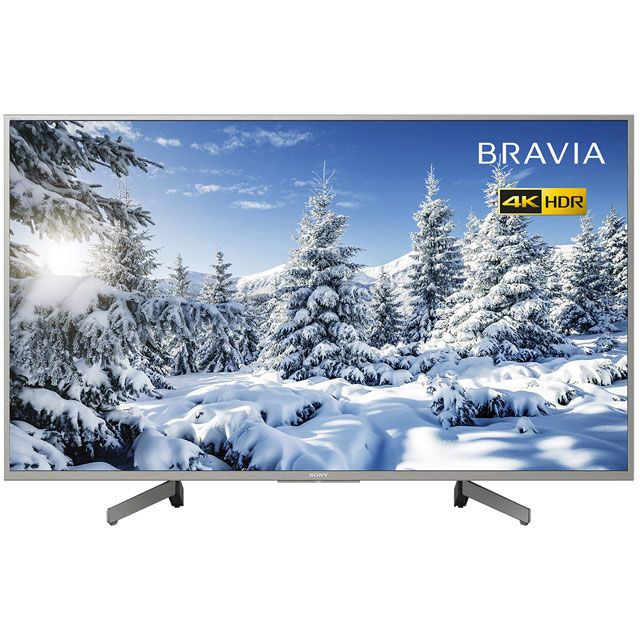 "Sony Bravia KD49XG7073ASU 49"" Smart 4K Ultra HD TV with HDR, Triluminos Display and X-Reality Pro Processor - KD49XG7073ASU - 1"