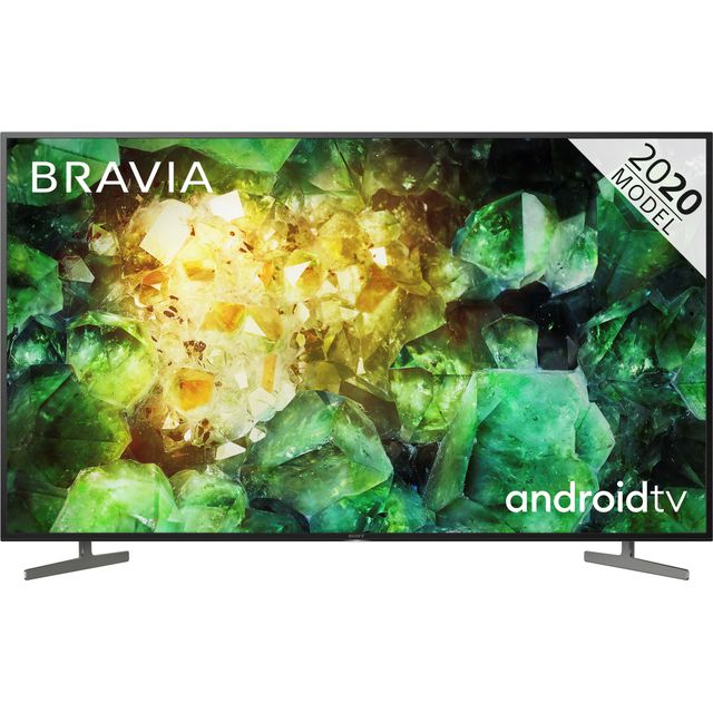 "Sony Bravia KD49XH8196BU 49"" Smart 4K Ultra HD Android TV With X1 Processor, X-Reality Pro and Dolby Vision"