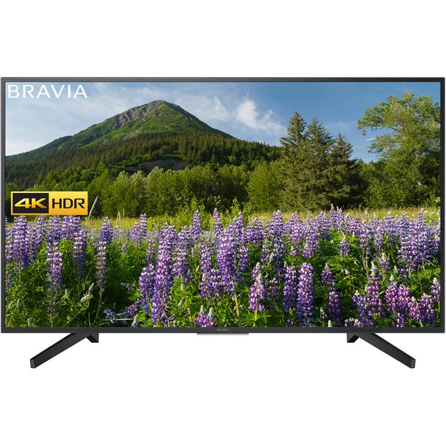 "Sony Bravia KD49XF7002ABU 49"" Smart 4K Ultra HD Certified TV with HDR and Freeview Play - Black - [A Rated]"