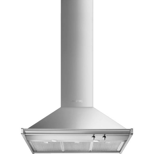 Smeg Opera KD90HXE 90 cm Chimney Cooker Hood - Stainless Steel - A+ Rated - KD90HXE_SS - 1
