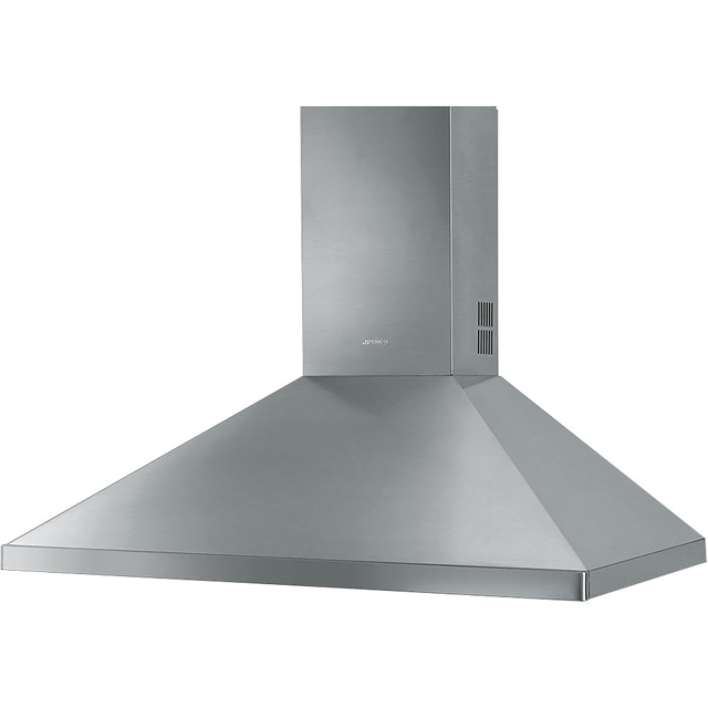 Smeg 90 cm Chimney Cooker Hood - Stainless Steel - D Rated