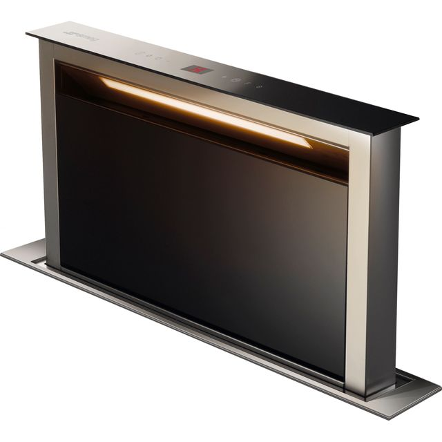 Smeg KDD60VXE-2 Built In Integrated Cooker Hood - Stainless Steel / Black - KDD60VXE-2_SSB - 1