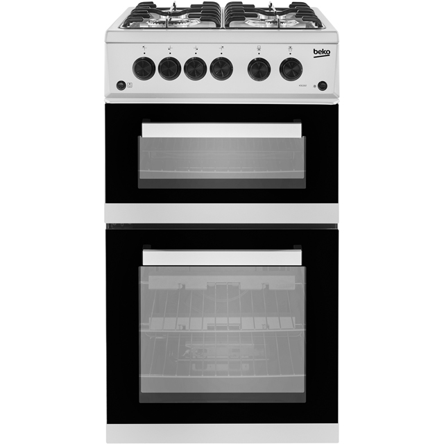 Beko Gas Cooker - Silver - A+ Rated