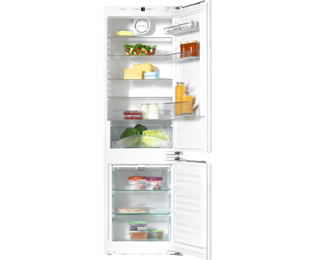 Miele PureLine KDN37232iD Integrated 70/30 Frost Free Fridge Freezer - White