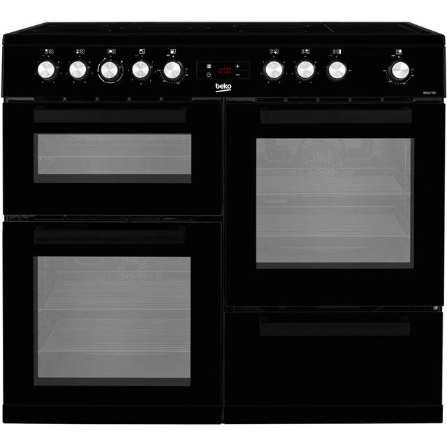 Beko KDVC100K Free Standing Range Cooker in Black