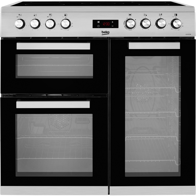 Beko KDVC90X Electric Range Cooker - Stainless Steel - KDVC90X_SS - 1
