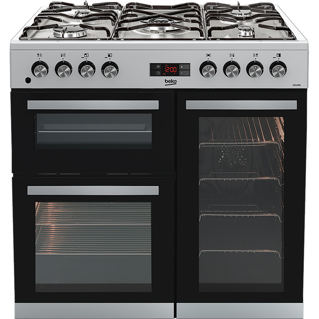 Beko KDVF90X Free Standing Range Cooker in Stainless Steel