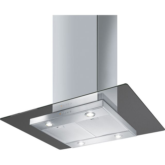 Smeg KEIV90E 90 cm Integrated Cooker Hood - Stainless Steel - KEIV90E_SS - 1