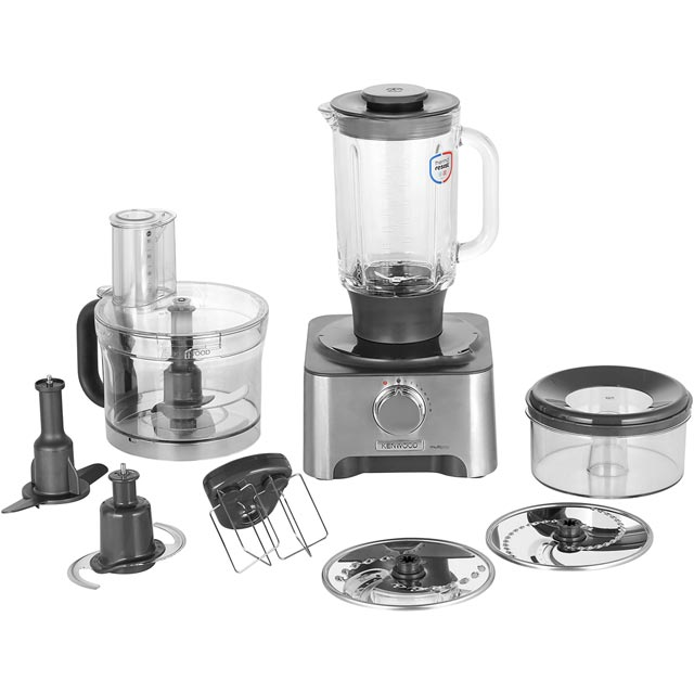 Kenwood MultiPro FDM781BA 3 Litre Food Processor - Silver - FDM781BA_SI - 1