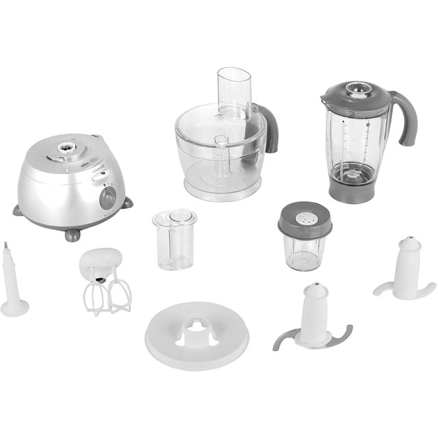 Kenwood MultiPro FP586 Food Processor With 11 Accessories - Silver - FP586_SI - 1