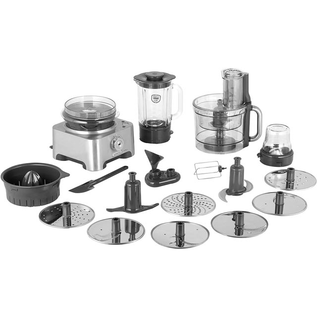 Kenwood MultiPro Excel FPM910 Food Processor With 12 Accessories - Silver - FPM910_SI - 1