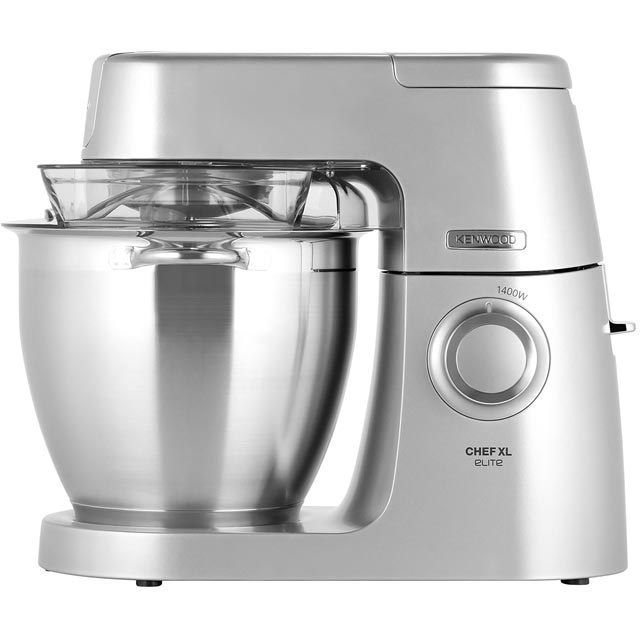 Kenwood Chef Elite XL KVL6100S Kitchen Machine - Silver - KVL6100S_SI - 1