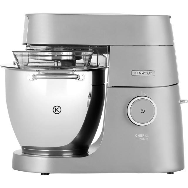 Kenwood Chef Titanium XL KVL8300S Stand Mixer with 6.7 Litre Bowl - Silver