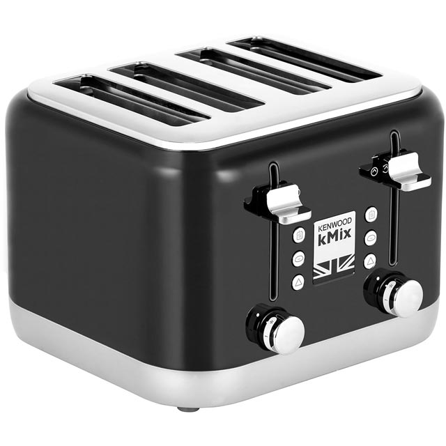 Kenwood KMIX TFX750BK 4 Slice Toaster - Black