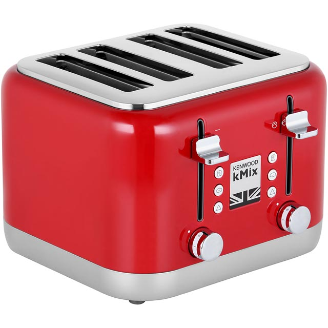 Kenwood KMIX TFX750RD 4 Slice Toaster - Red