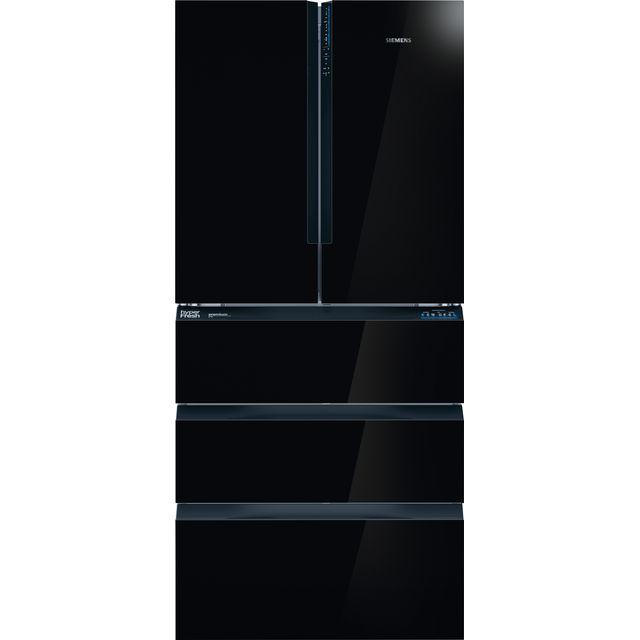 Siemens IQ-700 KF86FPB2A Wifi Connected American Fridge Freezer - Black / Silver - E Rated