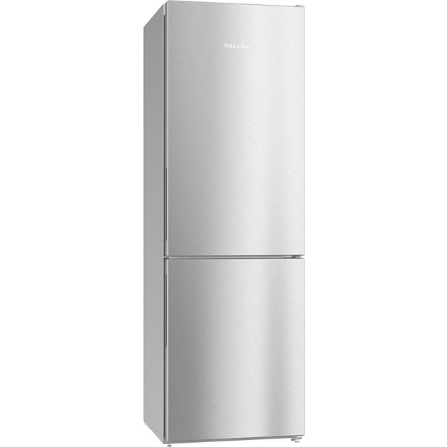 Miele KFN28132Dedt/cs 60/40 Frost Free Fridge Freezer - Clean Steel - A++ Rated