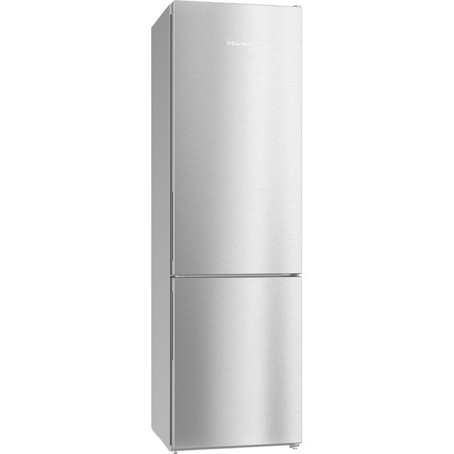 Miele KFN29162D 60/40 Frost Free Fridge Freezer - Clean Steel - A++ Rated - KFN29162D_CS - 1