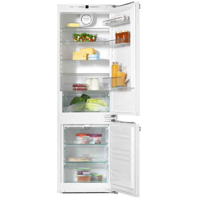 Miele KFN37232iD Integrated 60/40 Frost Free Fridge Freezer with Fixed Door Fixing Kit - White