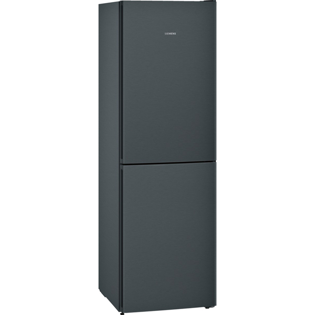 Siemens IQ-300 KG34NVX3AG 50/50 Frost Free Fridge Freezer - Black / Stainless Steel Look - A++ Rated - KG34NVX3AG_BK - 1