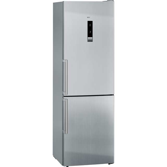 Siemens IQ-500 KG36NHI32 Wifi Connected 60/40 Frost Free Fridge Freezer - Stainless Steel Effect - A++ Rated - KG36NHI32_IX - 1