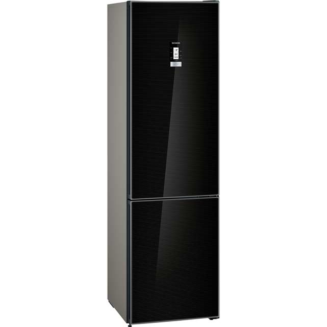 Siemens IQ-500 KG39NLB35 Wifi Connected 65/35 Frost Free Fridge Freezer - Black - A++ Rated - KG39NLB35_BK - 1