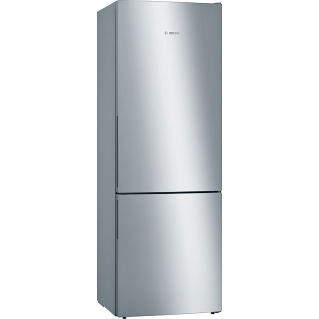 Bosch Serie 4 60/40 Fridge Freezer - Stainless Steel Effect - A+++ Rated