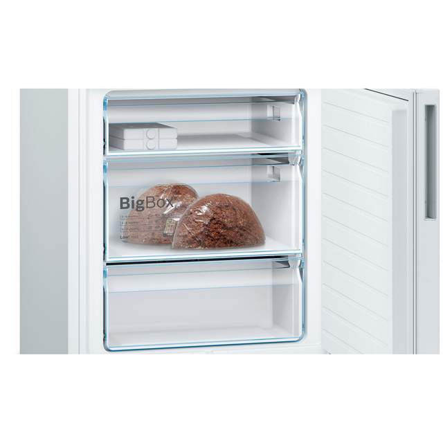 Bosch Serie 4 KGE49VI4AG 60/40 Fridge Freezer - Stainless Steel Effect - KGE49VI4AG_SSL - 3
