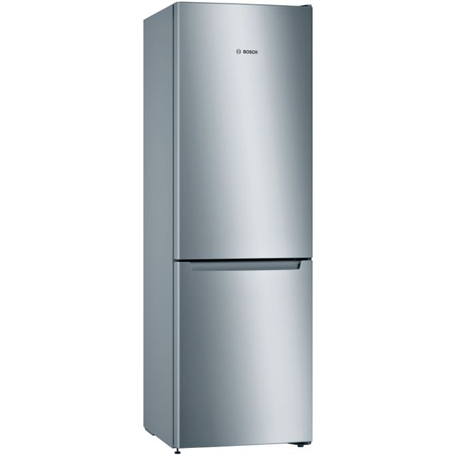Bosch Serie 2 KGN33NLEAG Fridge Freezer - Stainless Steel Effect - KGN33NLEAG_SSE - 1