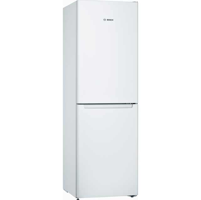Bosch Serie 2 KGN34NW3AG 50/50 Frost Free Fridge Freezer - White - A++ Rated - KGN34NW3AG_WH - 1