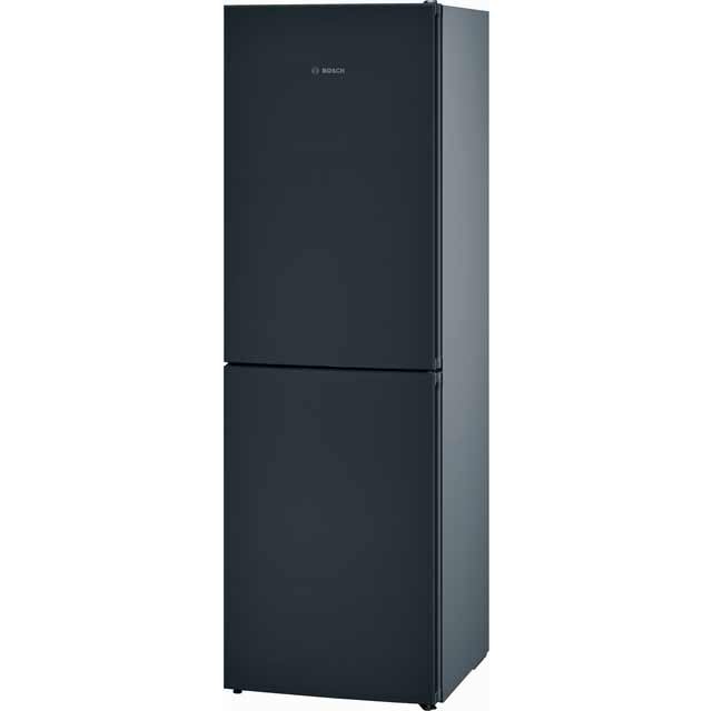 Bosch Serie 4 KGN34VB35G 50/50 Frost Free Fridge Freezer - Black / Stainless Steel Look - A++ Rated