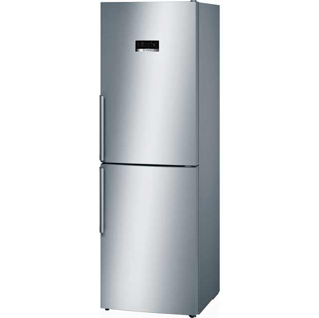 Bosch Serie 4 KGN34XL35G 50/50 Frost Free Fridge Freezer - Stainless Steel Effect - A++ Rated