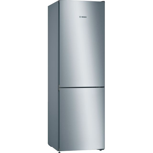 Bosch Serie 4 KGN36VLEAG Fridge Freezer - Stainless Steel Effect - KGN36VLEAG_SSE - 1