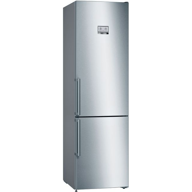 Bosch Serie 6 KGN39HIEP Fridge Freezer - Stainless Steel Effect - KGN39HIEP_SSE - 1