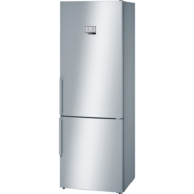 Bosch Serie 6 KGN49AI31 Wifi Connected 60/40 Frost Free Fridge Freezer - Stainless Steel Effect - A++ Rated - KGN49AI31_IX - 1